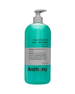 ANTHONY Invigorating Rush Hair + Body Wash 32 Oz/ 946 Ml