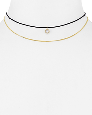 Jules Smith Dual Strand Choker Necklace, 12