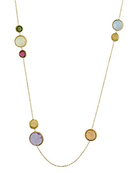 "Marco Bicego - 18K Yellow Gold Jaipur Gemstone Necklace, 36"""