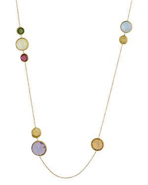Marco Bicego 18K Yellow Gold Jaipur Gemstone Necklace, 36