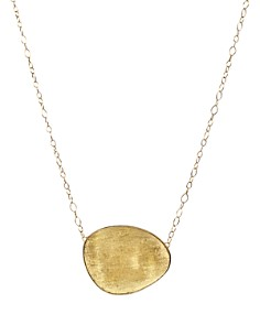 """Marco Bicego - 18K Yellow Gold Lunaria Pendant Necklace, 16.5"""""""