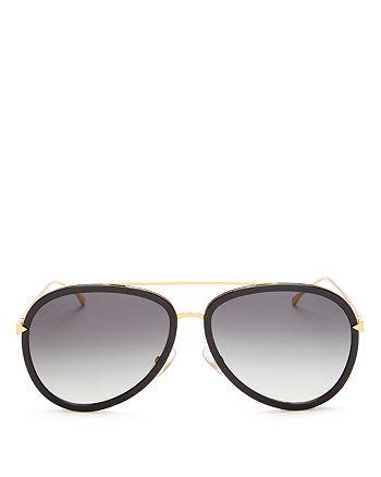 9a1ebf683256 Fendi - Women s Combo Aviator Sunglasses