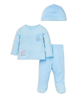 Little Me Infant Boys Gentle Friends 3Piece Knit Set  Sizes Newborn9 Months