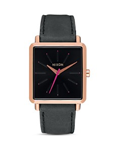 Nixon K Squared Leather Watch, 30mm x 32mm - Bloomingdale's_0