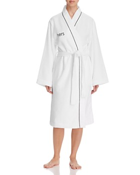 "Hudson Park Collection - ""Hers"" Bath Robe - 100% Exclusive"