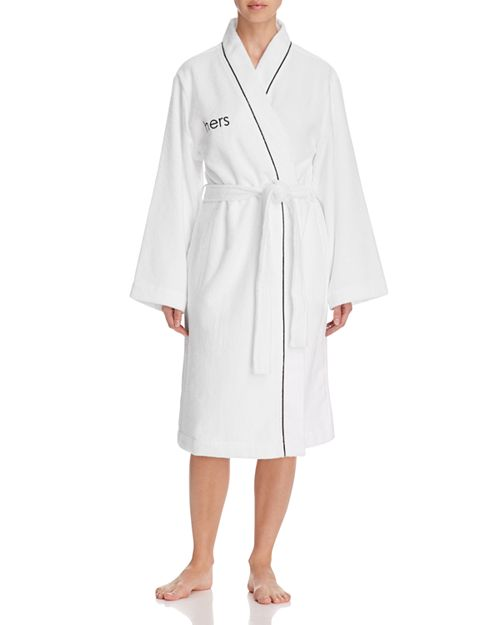 """Hudson Park Collection - """"Hers"""" Bath Robe - 100% Exclusive"""
