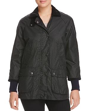 Barbour Rain Bedale Spot Print Raincoat - 100% Exclusive