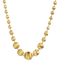 Marco Bicego Africa Gold Medium Bead Necklace, 17L