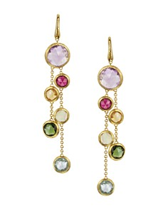 Marco Bicego Jaipur 18K Yellow Gold And Multi-Stone Double Drop Earrings - Bloomingdale's_0