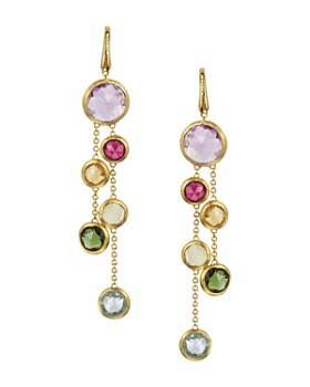 550e46cc285b Marco Bicego - Jaipur 18 K Yellow Gold And Multi-Stone Double Drop Earrings
