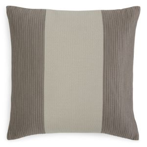 Hudson Park Luxe Greenwich Corded Jacquard Decorative Pillow, 20 x 20 - 100% Exclusive