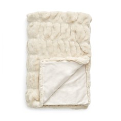 Hudson Park Collection - Faux Fur Throw - 100% Exclusive