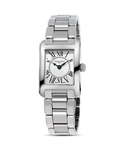 Frederique Constant Classics Carree Watch, 21mm - Bloomingdale's_0