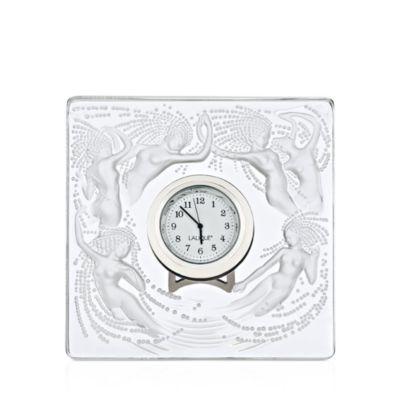 $Lalique Naiades Clock - Bloomingdale's