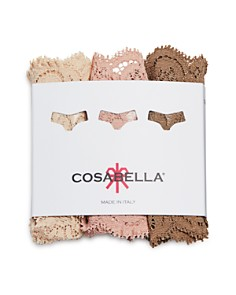 Cosabella - Never Say Never Cutie Low-Rise Thongs, Set of 3