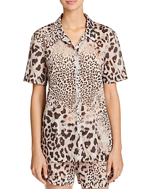 Natori Animal Print Short Pajama Set