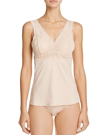 Fine Lines - Micro Stretch Galloon Lace Camisole & Hipster