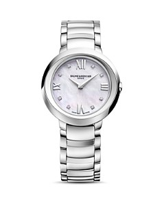 Baume & Mercier Promesse Watch with Mother-Of-Pearl and Diamonds, 30mm - Bloomingdale's_0
