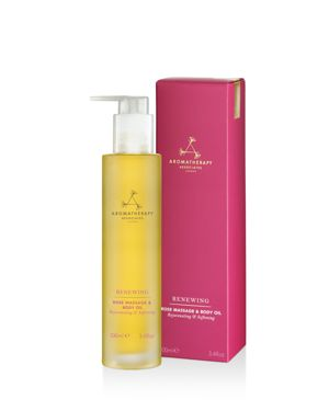 AROMATHERAPY ASSOCIATES Renewing Rose Massage & Body Oil