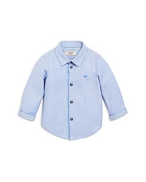 Armani Boys Pattern Block Dress Shirt  Sizes 1236 Months