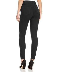 J Brand - Natasha Sky High Skinny Jeans in Seriously Black
