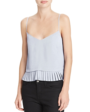 French Connection Pleated Polly Top