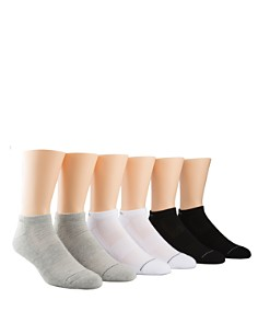 Calvin Klein - Athletic Ankle Socks, Pack of 6