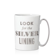 kate spade new york Simply Sparkling Look For the Silver Lining Mug - Bloomingdale's_0