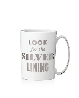 kate spade new york - Simply Sparkling Look For the Silver Lining Mug