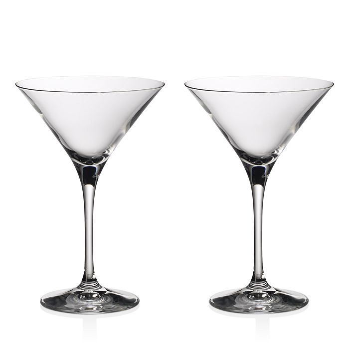 Villeroy Boch Purismo Bar Martini Cocktail Glass Set Of 2