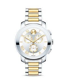 Movado BOLD Luxe Two Tone Chronograph, 40mm - Bloomingdale's_0