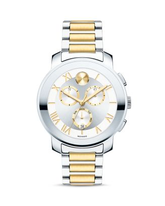 Luxe Two Tone Chronograph, 40mm by Movado