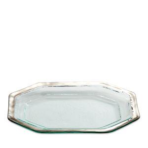 Annieglass Roman Antique Steak Platter