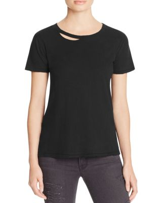 n:PHILANTHROPY Womens Long Sleeve Tee Shirt X Heather Gray Da