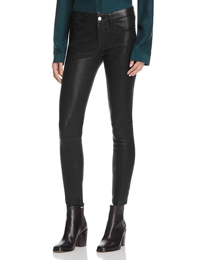 72789c94af FRAME Le Skinny Leather Pants | Bloomingdale's