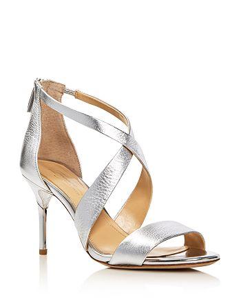 2de2c8ac8 Imagine VINCE CAMUTO - Women s Pascal Metallic Crisscross High-Heel Sandals