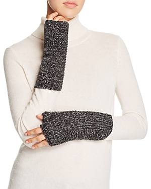 Aqua Marl Metallic Armwarmer Gloves - 100% Exclusive at Bloomingdale's