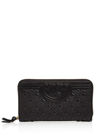 ac5fce57ad Tory Burch Fleming Zip Continental Wallet | Bloomingdale's