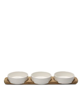 Villeroy & Boch - Pizza Passion 4-Piece Topping Bowl and Tray Set