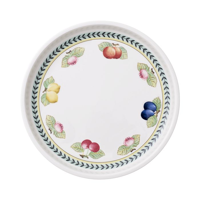 "Villeroy & Boch - French Garden Baking Round 10.25"" Serving Plate/Lid"