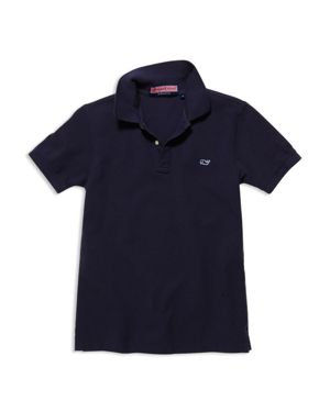 Vineyard Vines Boys' Classic Pique Polo Shirt - Little Kid