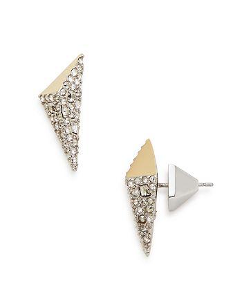 90128b6db Alexis Bittar Crystal Encrusted Pyramid Stud Earrings | Bloomingdale's