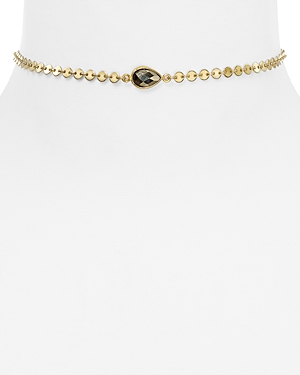 Dogeared Circle Chain Choker Necklace, 12 - 100% Exclusive