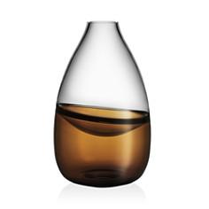 Kosta Boda Septum Brown Vase - Bloomingdale's_0