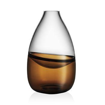 Kosta Boda - Septum Brown Vase