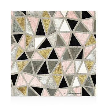 Thirstystone - Marbled Geometric Blush Coasters, Set of 4
