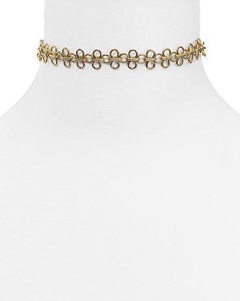 """AQUA - Francesca Choker Necklace, 13"""" - 100% Exclusive"""