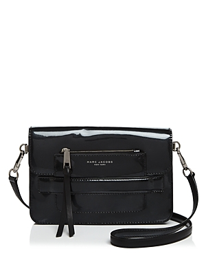 marc jacobs female marc jacobs medium madison t2 patent classic shoulder bag