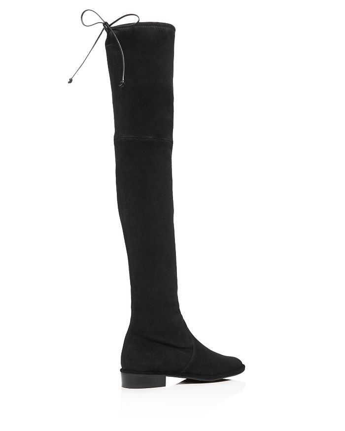 bb4a3c9614f Stuart Weitzman Women s Lowland Stretch Suede Over-the-Knee Boots ...