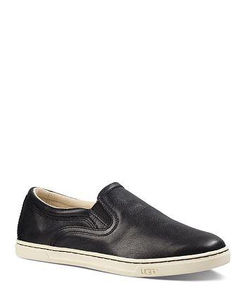 6ad400192f1 UGG® Fierce Leather Slip-On Sneakers | Bloomingdale's